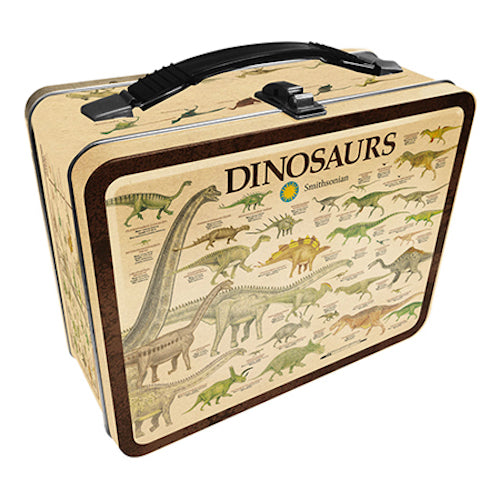 Smithsonian - Dinosaurs Tin Carry All Fun Box | Cookie Jar - Home of the Coolest Gifts, Toys & Collectables