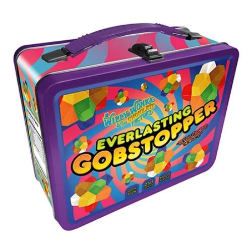 Willy Wonka - Everlasting Gobstopper Tin Carry All Fun Box