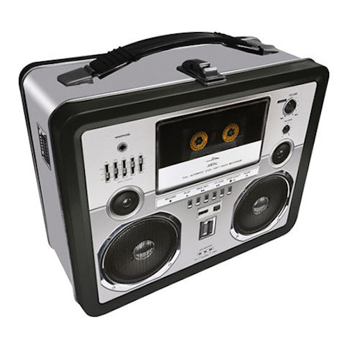 Boombox Tin Carry All Fun Box | Cookie Jar - Home of the Coolest Gifts, Toys & Collectables