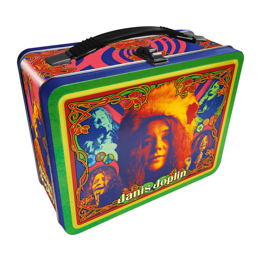 Janis Joplin Tin Fun Box | Cookie Jar - Home of the Coolest Gifts, Toys & Collectables