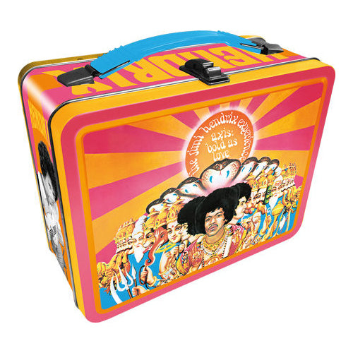 Jimi Hendrix - Axis Bold as Love Tin Fun Box | Cookie Jar - Home of the Coolest Gifts, Toys & Collectables