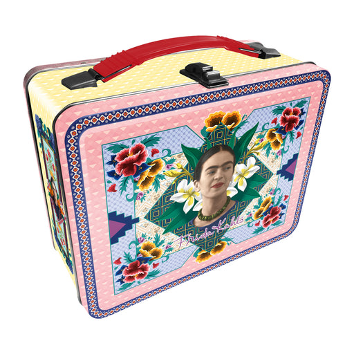 Frida Kahlo Tin Carry All Fun Box | Cookie Jar - Home of the Coolest Gifts, Toys & Collectables