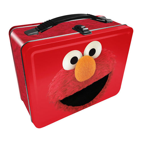 Sesame Street - Elmo Tin Fun Box | Cookie Jar - Home of the Coolest Gifts, Toys & Collectables