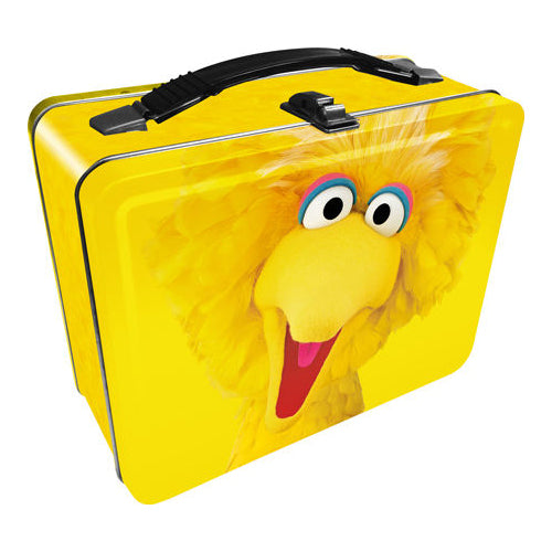 Sesame Street - Big Bird Tin Fun Box | Cookie Jar - Home of the Coolest Gifts, Toys & Collectables