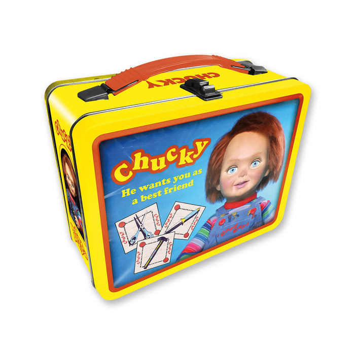 Chucky Tin Carry All Fun Box