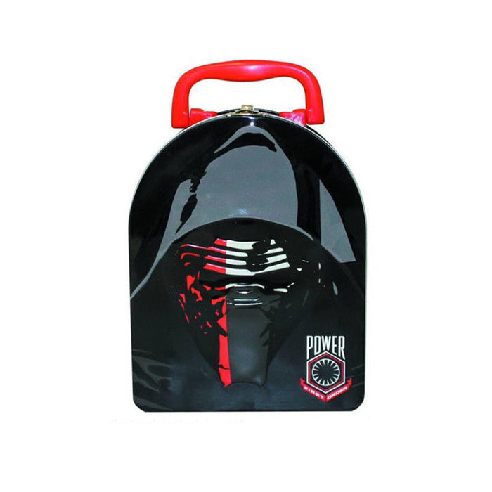 "Star Wars Ep VII ""Kylo Ren"" Arch Shape Carry All Tin 