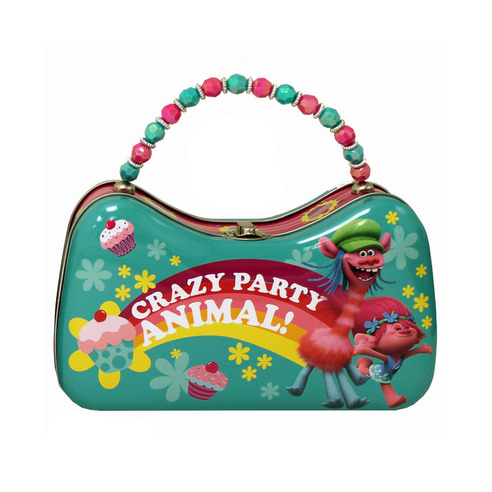 "Trolls Movie ""Crazy Party Animal"" Tin Scoop Purse 
