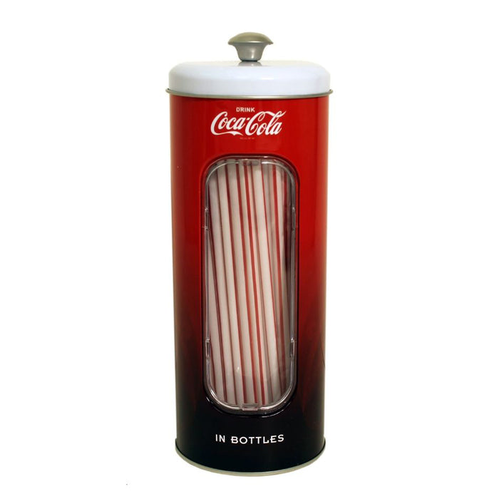 Coke Straw Holder (with 50 Straws!) | Cookie Jar - Home of the Coolest Gifts, Toys & Collectables