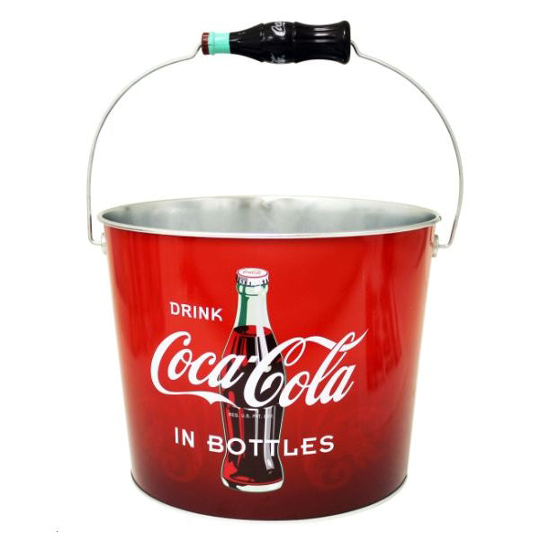Coke Tin Beverage Bucket | Cookie Jar - Home of the Coolest Gifts, Toys & Collectables