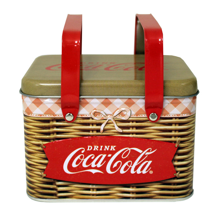 Coke Tin Picnic Basket with Handles | Cookie Jar - Home of the Coolest Gifts, Toys & Collectables