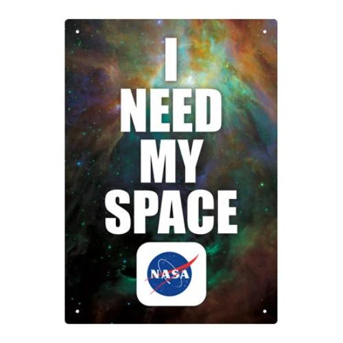 NASA Space Tin Sign