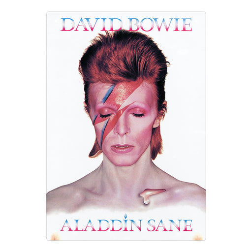 David Bowie - Aladdin Sane Tin Sign | Cookie Jar - Home of the Coolest Gifts, Toys & Collectables