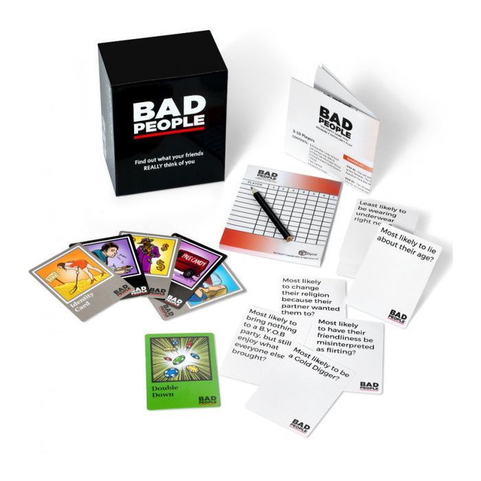 Bad People Base Game | Cookie Jar - Home of the Coolest Gifts, Toys & Collectables