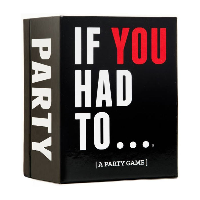 If You Had To.. Party Game