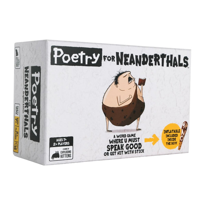 Poetry For Neanderthals Party Game