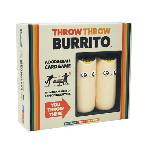 Throw Throw Burrito | Cookie Jar - Home of the Coolest Gifts, Toys & Collectables
