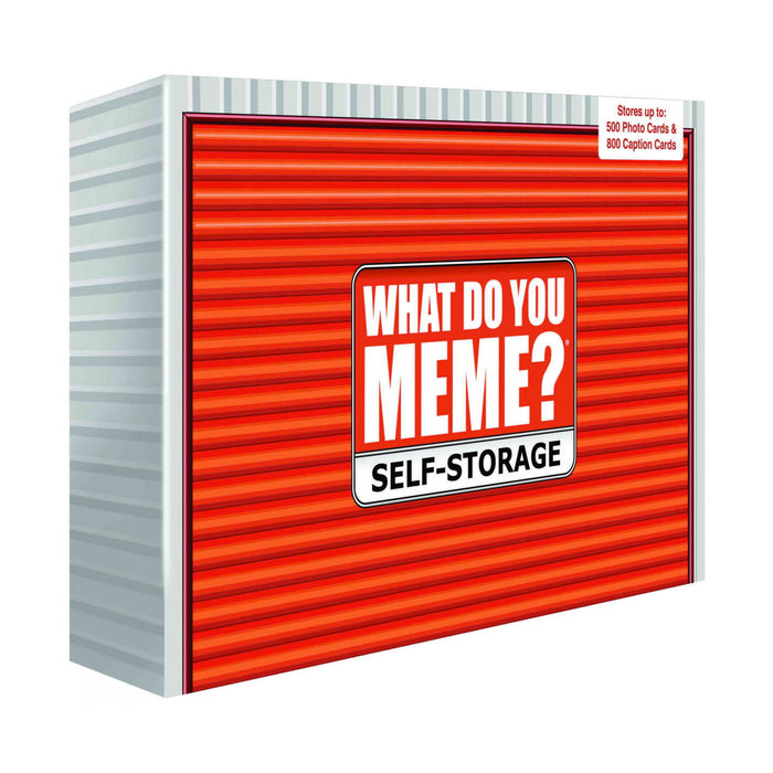 What Do You Meme? Self Storage Box | Cookie Jar - Home of the Coolest Gifts, Toys & Collectables