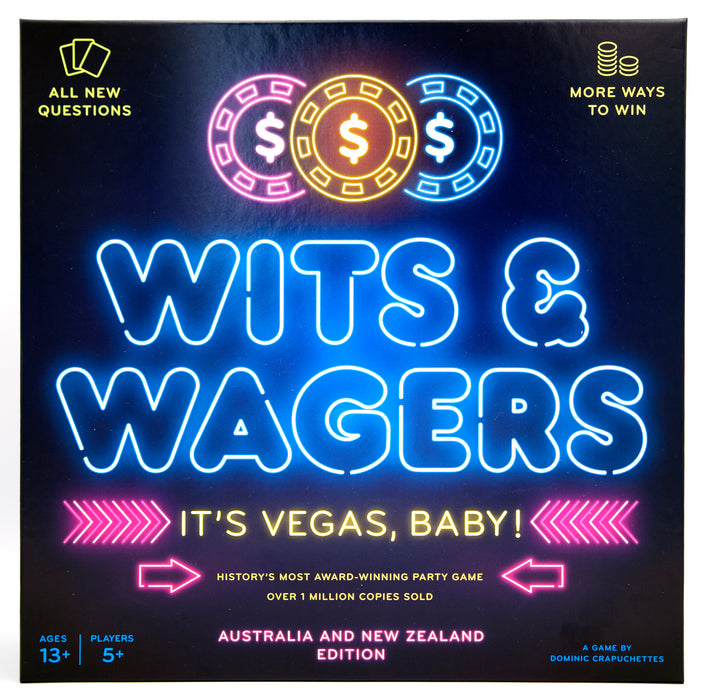 Wits & Wagers It's Vegas Baby Party Game