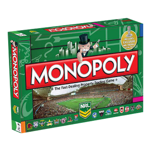 Monopoly - NRL Edition | Cookie Jar - Home of the Coolest Gifts, Toys & Collectables