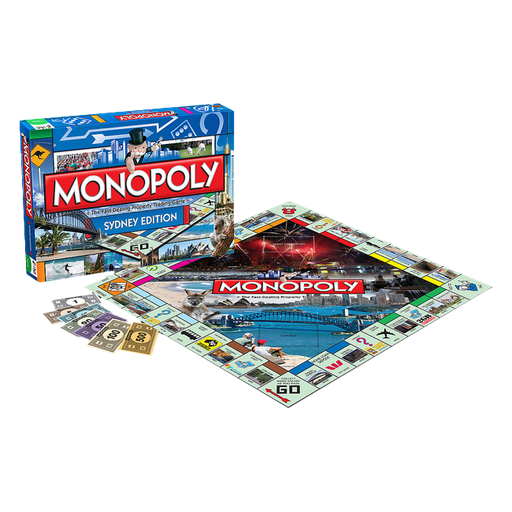 Monopoly - Sydney Edition | Cookie Jar - Home of the Coolest Gifts, Toys & Collectables