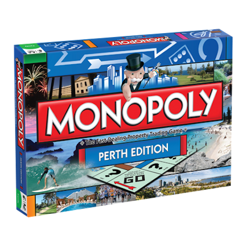 Monopoly - Perth Edition | Cookie Jar - Home of the Coolest Gifts, Toys & Collectables