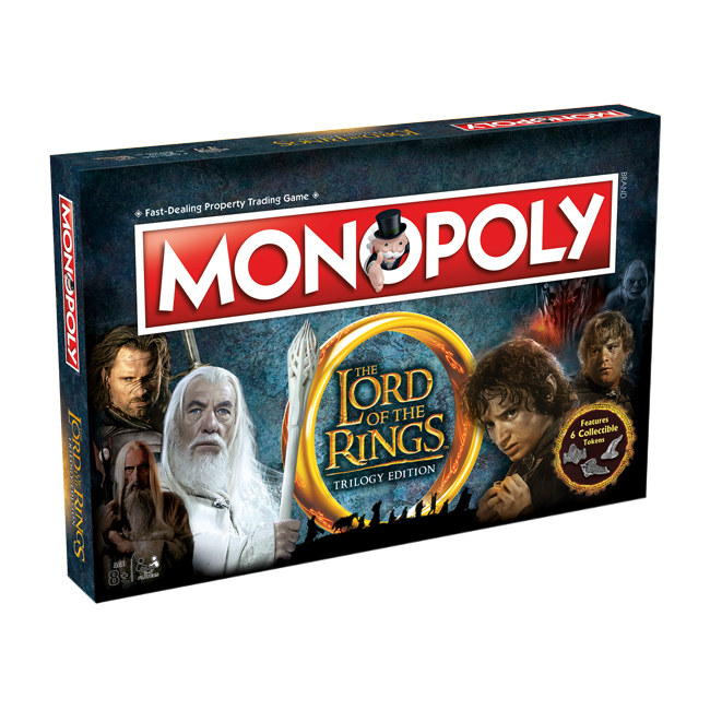 Monopoly - Lord of the Rings Trilogy Edition | Cookie Jar - Home of the Coolest Gifts, Toys & Collectables