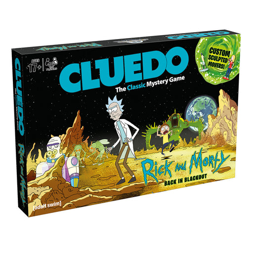 Cluedo - Rick & Morty Edition | Cookie Jar - Home of the Coolest Gifts, Toys & Collectables