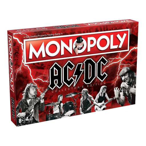 Monopoly - AC/DC Edition | Cookie Jar - Home of the Coolest Gifts, Toys & Collectables