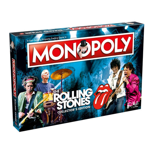 Monopoly - Rolling Stones Edition | Cookie Jar - Home of the Coolest Gifts, Toys & Collectables