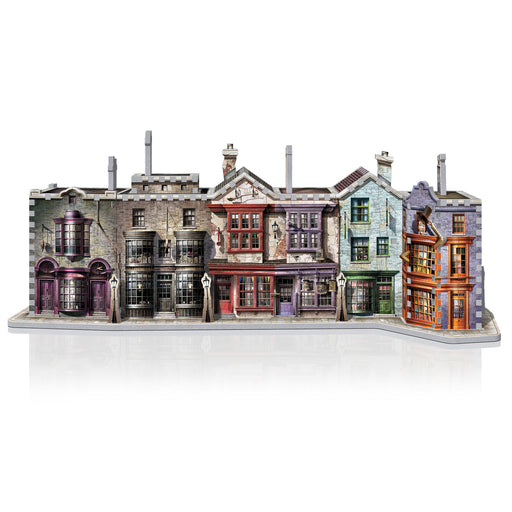 3D Harry Potter Diagon Alley 450pc Puzzle | Cookie Jar - Home of the Coolest Gifts, Toys & Collectables