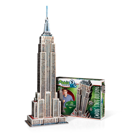 3D Empire State Building 975pc Puzzle | Cookie Jar - Home of the Coolest Gifts, Toys & Collectables