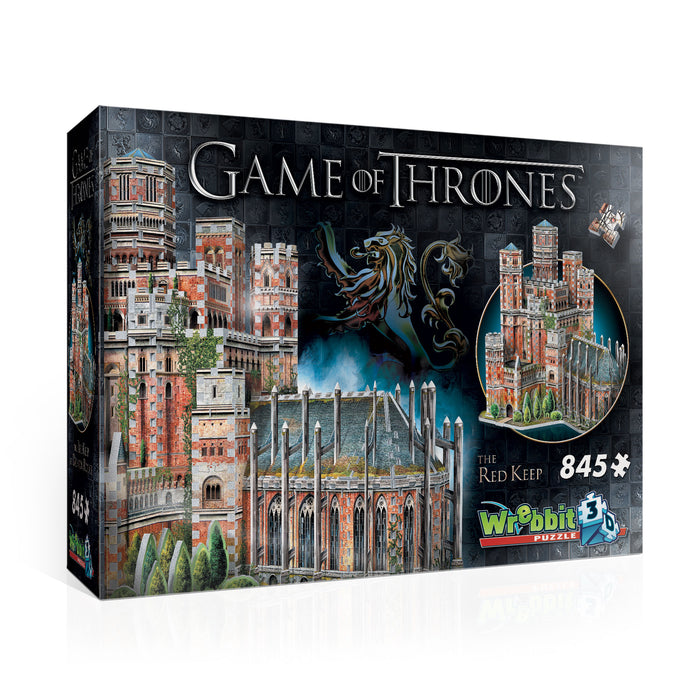 3D Game Of Thrones The Red Keep 845pc Puzzle | Cookie Jar - Home of the Coolest Gifts, Toys & Collectables
