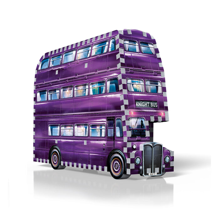 3D Harry Potter - The Knight Bus 280pc 3D Puzzle | Cookie Jar - Home of the Coolest Gifts, Toys & Collectables
