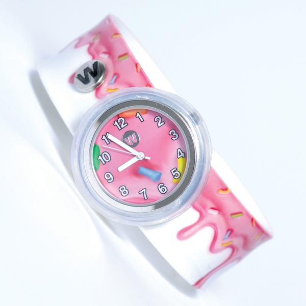 #345 - Pink Frosting - Watchitude Slap Watch | Cookie Jar - Home of the Coolest Gifts, Toys & Collectables