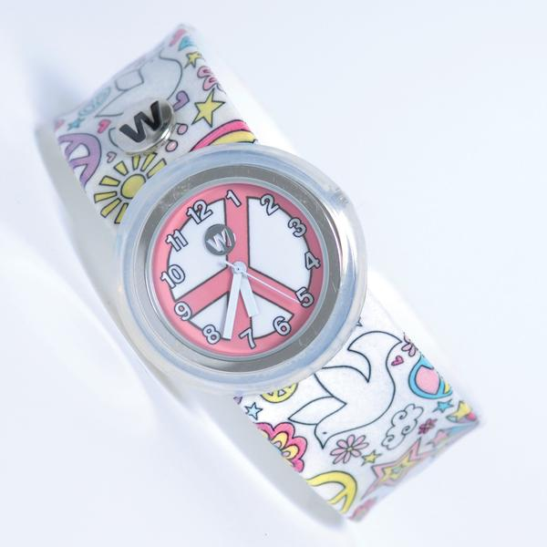 #368 - Flower Power - Watchitude Slap Watch | Cookie Jar - Home of the Coolest Gifts, Toys & Collectables