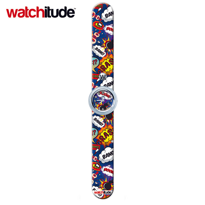 #387 - Comics - Watchitude Slap Watch | Cookie Jar - Home of the Coolest Gifts, Toys & Collectables
