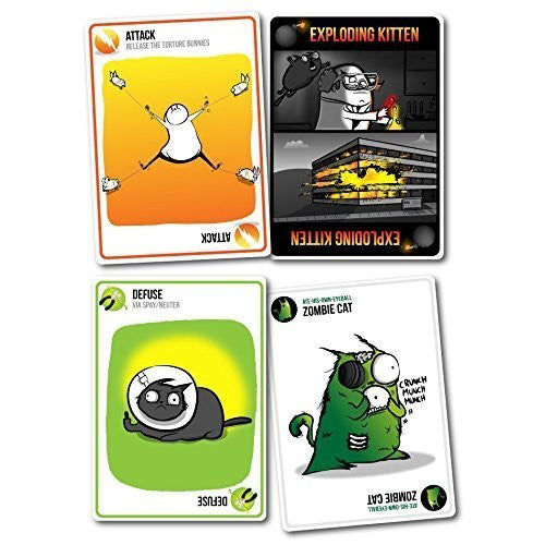 Exploding Kittens NSFW Edition | Cookie Jar - Home of the Coolest Gifts, Toys & Collectables