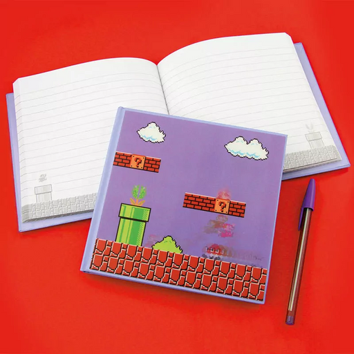 Super Mario Bros. 3D Motion Notebook | Cookie Jar - Home of the Coolest Gifts, Toys & Collectables
