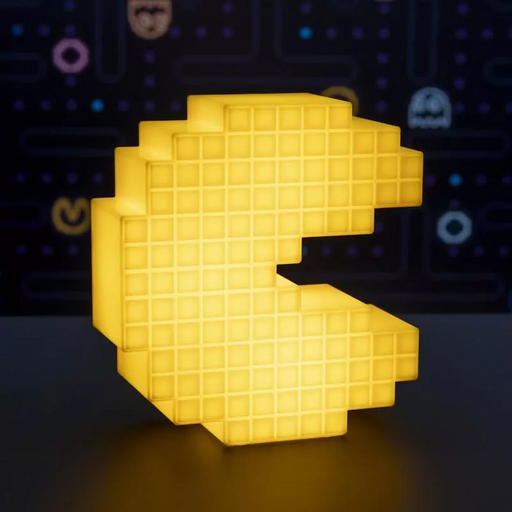 Pac-Man Pixelated Light | Cookie Jar - Home of the Coolest Gifts, Toys & Collectables