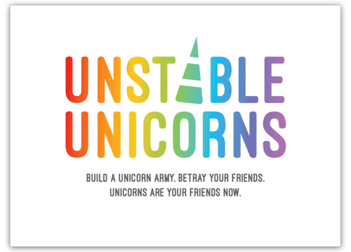 Unstable Unicorns | Cookie Jar - Home of the Coolest Gifts, Toys & Collectables