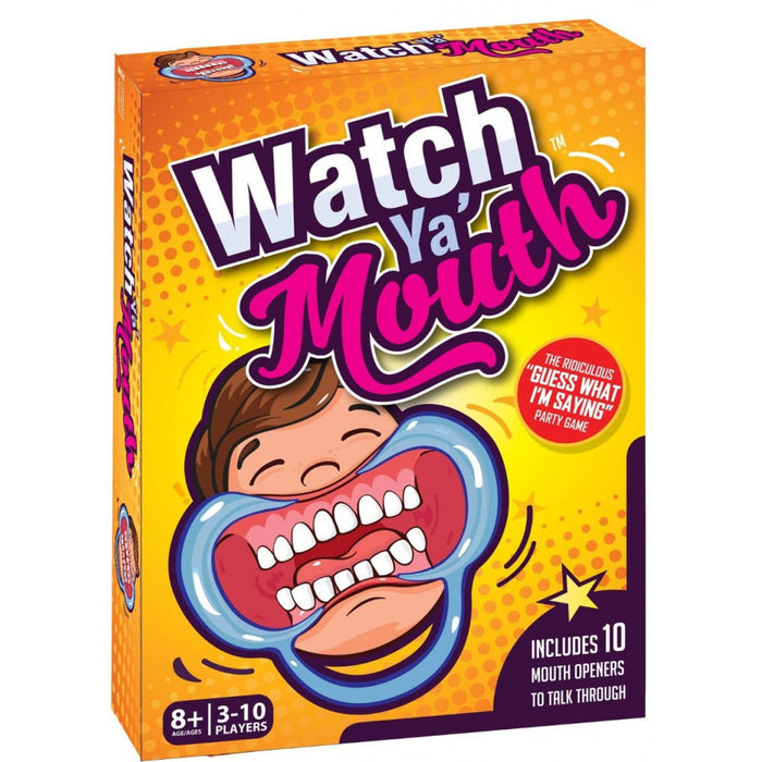 Watch Ya Mouth | Cookie Jar - Home of the Coolest Gifts, Toys & Collectables