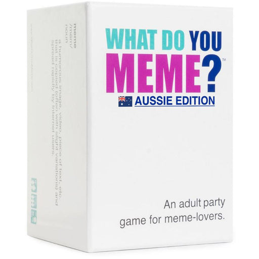 What Do You Meme? Aussie Edition | Cookie Jar - Home of the Coolest Gifts, Toys & Collectables