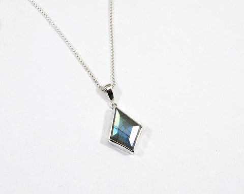 Labradorite Kite Necklace