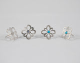 Rosette Earrings- Choice of color