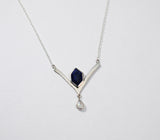 Twilight Necklace with Lapis Lazuli and Moonstone