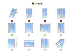 Window Seal Model #AL003 - Discover Suitable Window Types