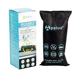 Apalus Car Dehumidifier Bag | Silica Gel | DMF Free | Reusable (1kg)