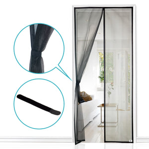 Apalus Magnetic Fly Screen Door | Ultra Seal Magnets Closes Automatically | Super Strong Mosquito Mesh