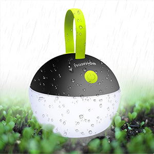 HOOMEE | Portable LED Camping Light | Small Round USB Rechargeable Lamp | Waterproof, Dustproof