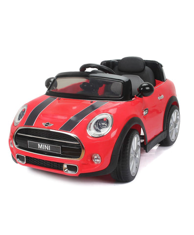 BMW Mini Cooper 195 red colour Battery Operated Ride on car